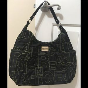 Kenneth Cole Reaction Stitch Letter Tote! 💥